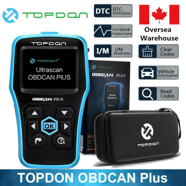 TOPDON OBDCAN PLUS2.0 Auto Diagnostic Tool Reading&Clearing Vehicle Trouble Code