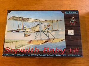 Eduard-1-48-Sopwith-Baby-8006-Model-kit-NIB