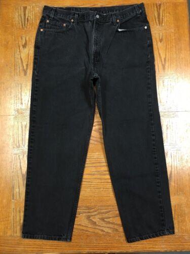 Vintage Noir 42x32 55042324232 Tag O18 Usa Sz Fit Relaxed 40x31 Hommes 550 Meilleur Jeans Levis tfqYxRP