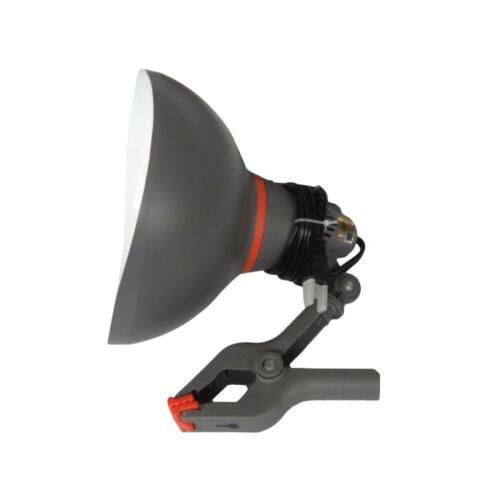 HDX High reflectivity Incandescent 75 Watt PVC Clamp Lamp Work Light Durability