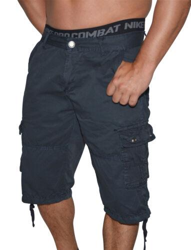 Bermuda look vissuto Cargo Shorts-breve Vintage Pantaloni Cargo Bermuda-w29 a w36