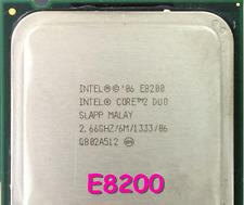 Intel Core 2 Duo E8200 2.66 GHz 6MB 1333MHz SLAPP LGA775 CPU Desktop Processor