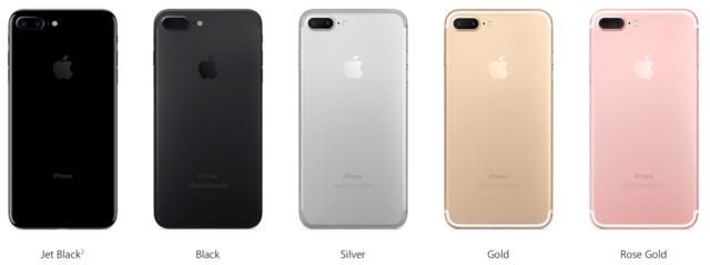 Apple iPhone Seven Plus 32GB/128GB - Factory Unlocked - NEW w/ Apple Warranty