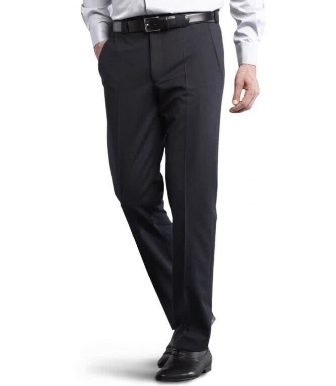 Meyer Trousers Roma 288 19  - Navy Formal Gabardine - All Sizes