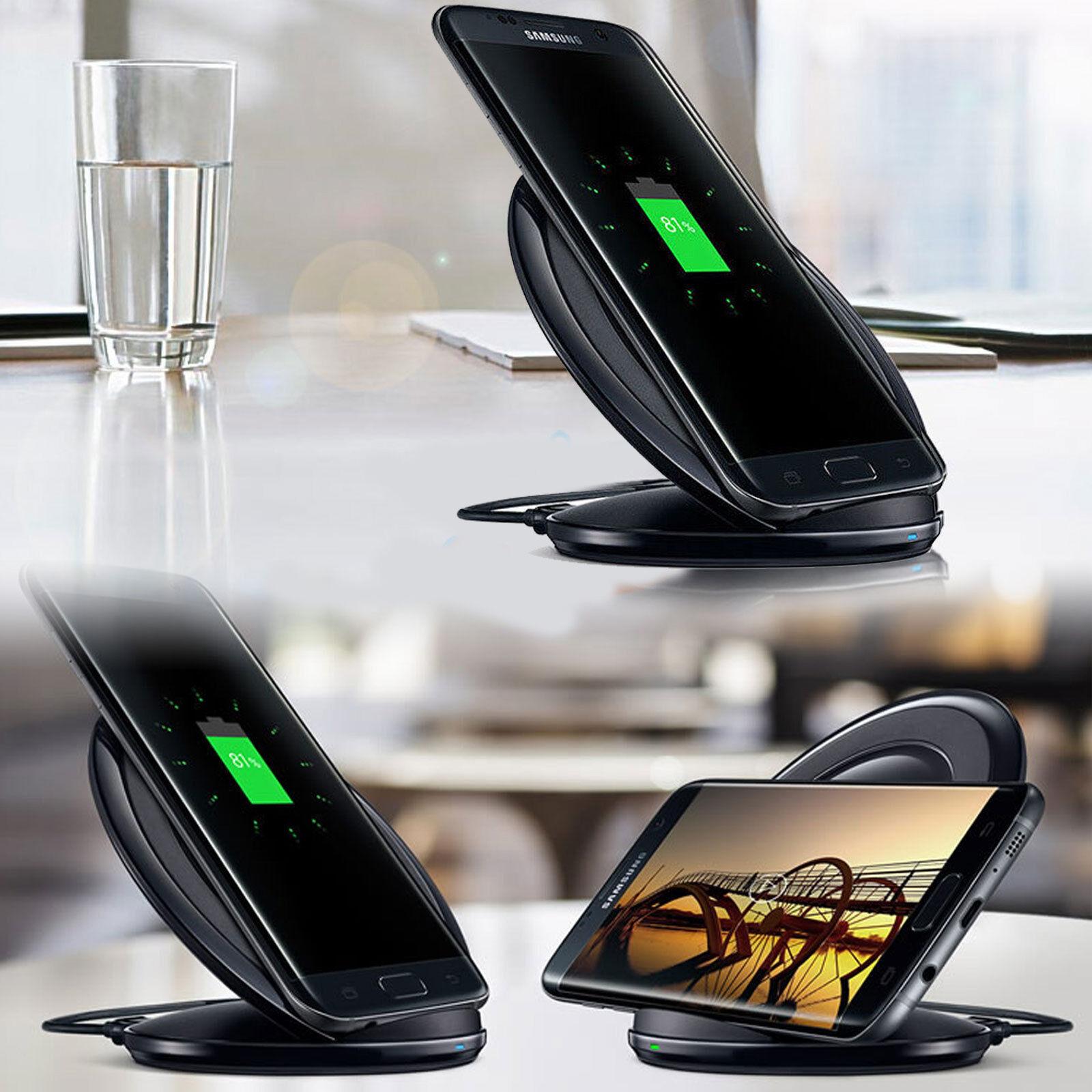 Original Fast Qi Wireless Charger Pad Samsung Galaxy S8/S9Pl