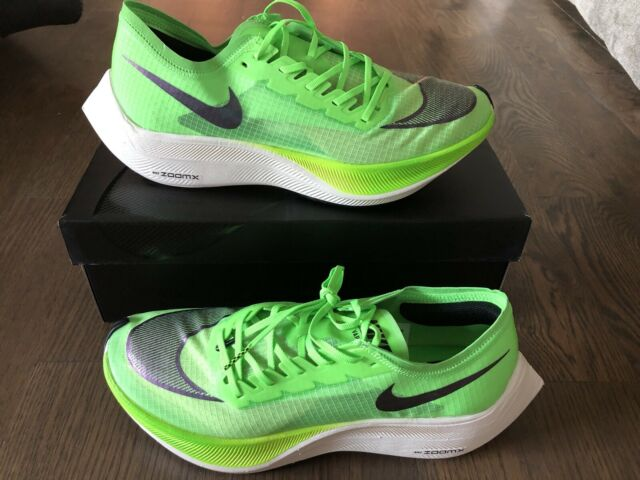 Nike Zoom X Vaporfly Next% Neon Electric Green Black 5 10 11