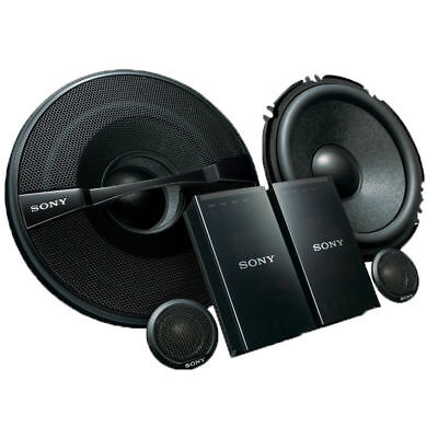 "Sony XS-GS1621C GS-Series 6-1//2/"" 2-Way Component Speakers System 320 Watts NEW"