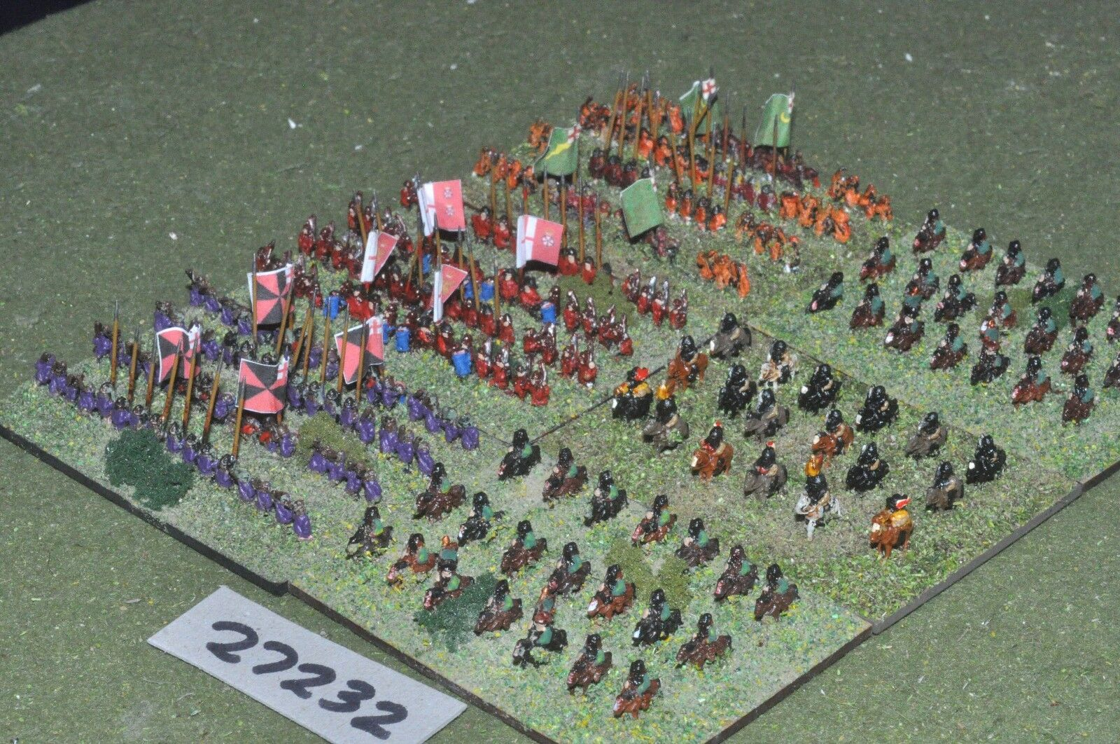 6mm ECW   royalist - battle group 230 figures - inf (27232)