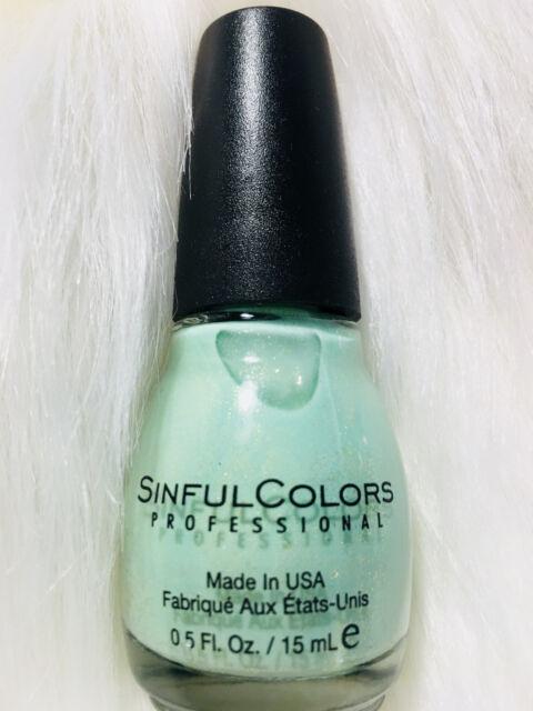 777 Sinful Colors Nail Polish - Works Like a Charm #2204 MINT Green ...