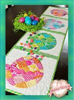 Patchwork Easter Egg Table Runner Shabby Fabrics Table Pattern Quilting