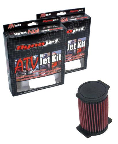 K/&N Filter YA-2597 Yamaha Kodiak 400 93 94 95 96 DynoJet Jet Kit Stage 1 Q405