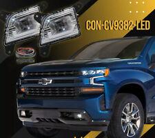 For 2019 2020 2021 Chevy Silverado Next Generation Led Fog Lights Lamp