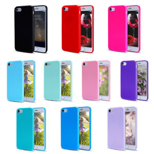 For iPhone 8 7 Plus Case Ultra Thin Soft Shockproof Silicone Gel Rubber TPU Case
