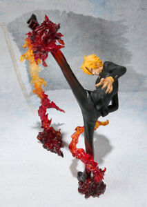 One Piece vinsmoke Sanji Battle Stance PVC Anime Figure Collection Jouet en Boîte