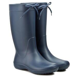 con Uk Sz Freesail ajuste Rain Nuevas relajado Wellington 3 botas 410 203541 Navy Crocs qZnX7f
