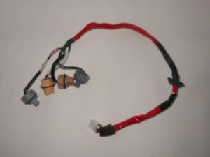 s l300 03 04 mitsubishi outlander tail light bulb wiring harness oem fast