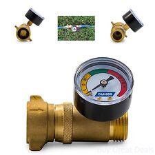Camco 40064 Brass Water Pressure Regulator With Gauge Lead For Sale Online Ebay