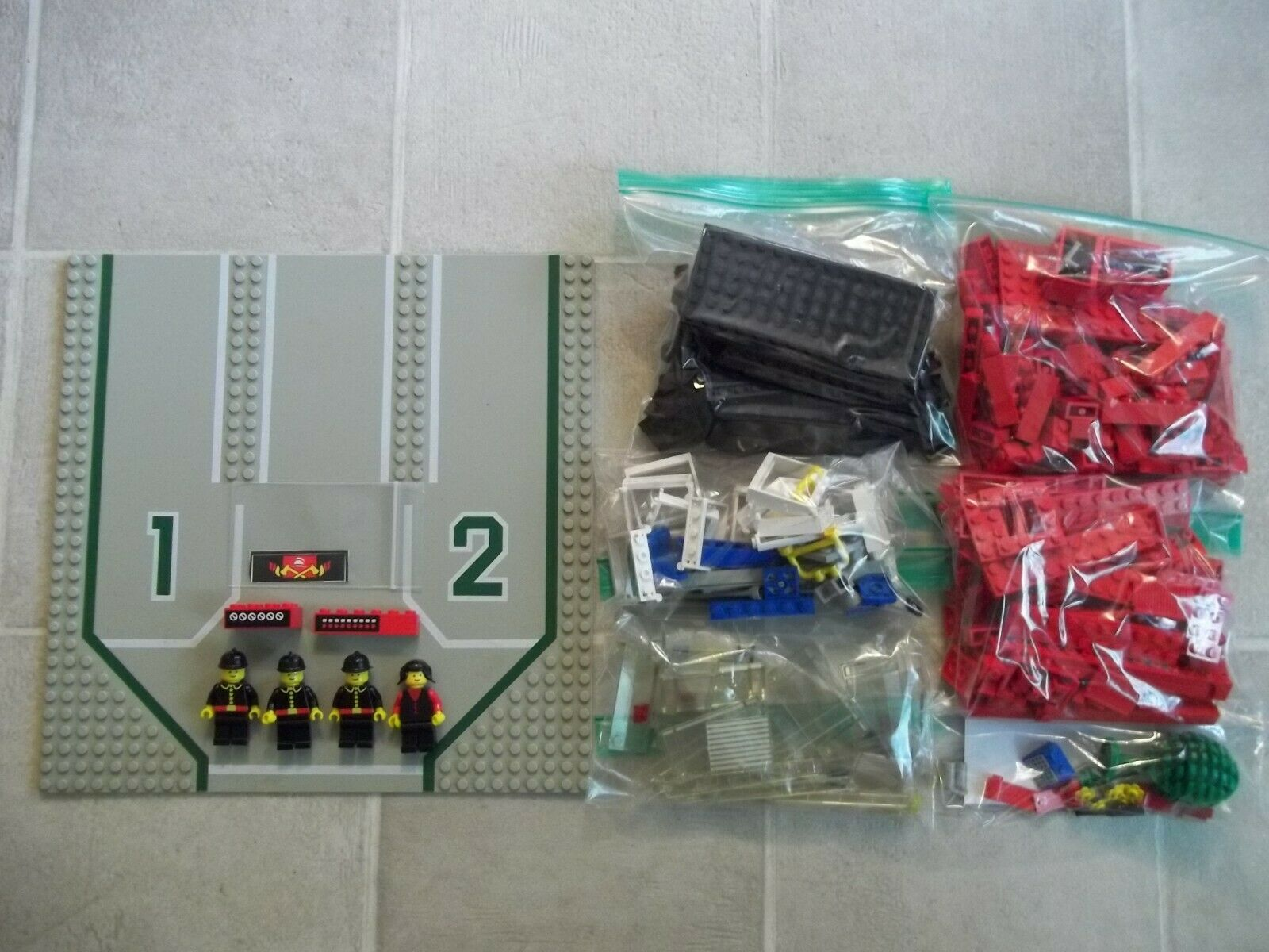 Lego 6382 Classic Town FIRE STATION NO Instructions