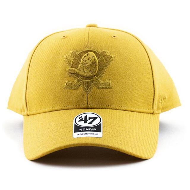 Anaheim Ducks Wheat MVP Hat Snapback '47 Brand NHL Baseball Cap