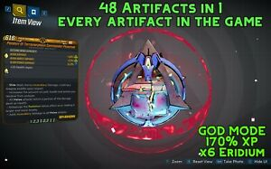 Borderlands 3 Modded EVERYTHING Artifact 🔹48 RELICS IN 1🔹x7 Eridium - XBOX PS4