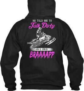 Talk-Dirty-Braaaap-Snowmobile-2-He-Told-Me-To-19-So-I-Gildan-Hoodie-Sweatshirt