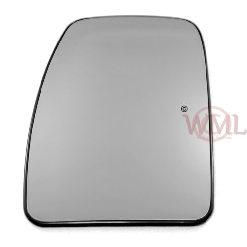 VAUXHALL MOVANO 1999-/>2009 DOOR MIRROR GLASS SILVER,HEATED /& BASE,LEFT SIDE