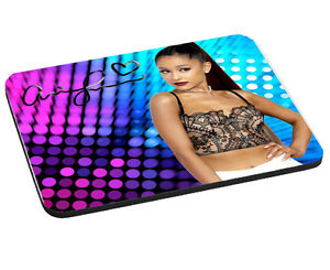 Ariana Grande Mouse Mat Pad Gift 220mm x 180mm 5mm Thick