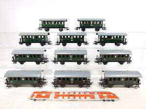 CF802-2-11x-Maerklin-H0-AC-4000-Blech-Personenwagen-327-1-Ci-18t-2-Wahl-gut