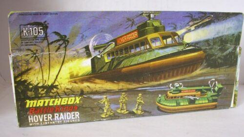 Repro Box Matchbox Battle Kings K 105 Hover Raider