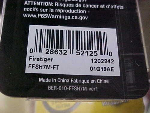 "Berkley 3/"" 5//16oz FLicker Shad FFSH7M-FT in FIRETIGER for Bass//Walleye//Pickerel"