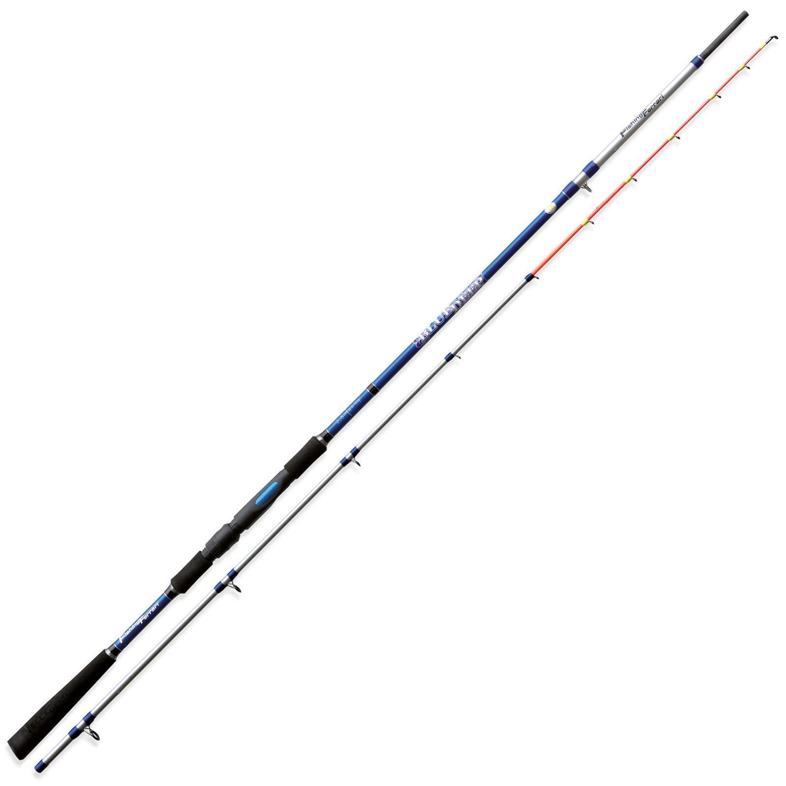 2230625 Canna Fishing Ferrari Deep blu 2,50m 150 Gr Pesca Barca Bolentino CAS