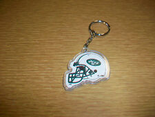 Vintage Plastic Keychain NFL New York Jets Football Helmet Logo