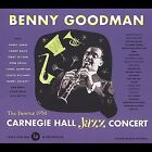 Live at Carnegie Hall: 1938 Complete by Benny Goodman (CD, Oct-1999, 2 Discs, Legacy)