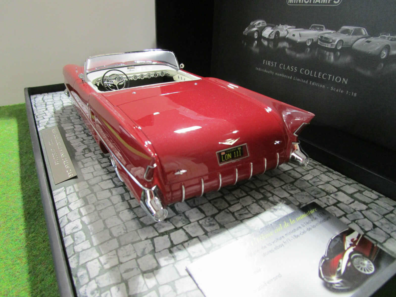 CADILLAC LE uomoS DREAM CAR 1953 Cabriolet Cabriolet Cabriolet rge 1 18 MINICHAMPS 107148231 voiture d6932f