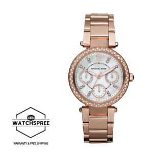 590b43a3f797 Image is loading Michael-Kors-Ladies-039-Mini-Parker-Watch-MK5616