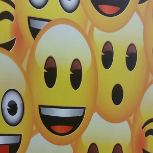 Image is loading Emoji-Wallpaper -Smiley-Face-Text-Message-Japanese-Characters-