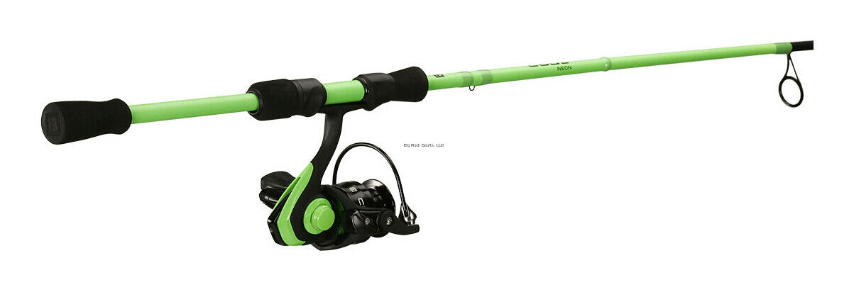 NEW 13 Fishing Code Neon 6'7  M Spinning Combo 2000 Size Reel 2pc CNC67M-2