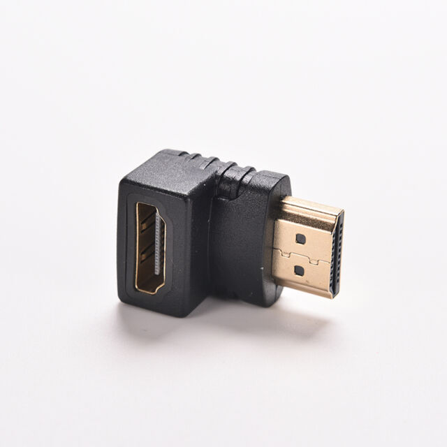 Right Angle hdmi Cable Adapter Male to Female TV Connector 270 90 Degree HDTV FD