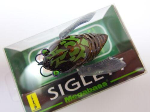 Megabass TSUKU TSUKU BOSHI SIGLETT 36.5mm 3//16oz