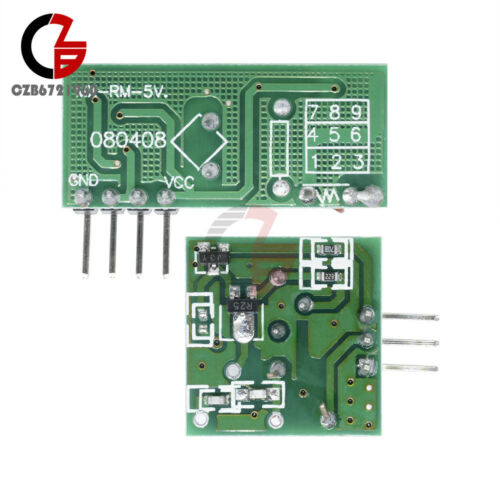 2PCS 433Mhz RF transmitter and receiver kit for Arduino//ARM//MCU WL