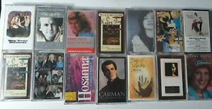 Lot-of-14-Miscellaneous-Praise-and-Worship-Cassette-Tapes-Free-Shipping