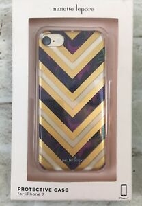 half off ad6f2 4bc9a Details about Nanette Lepore iPhone 7 Cell Phone Protective Case NEW IN BOX  NIB