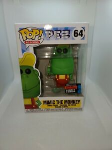 Funko Pop AD Icons Exclusive 2019 Fall Convention PEZ Mimic the Monkey #64