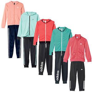 cheap shop discount sale Details zu adidas Performance Mädchen-Jogginganzug Trainingsanzug  Sportanzug Set Kinder NEU