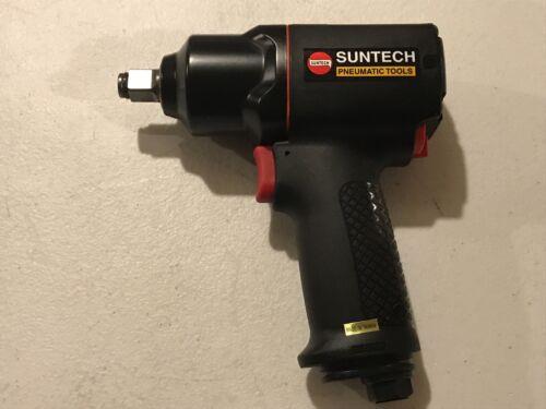 "Suntech 1//2"" Pneumatic Mini Air Impact Wrench Composite Housing 460 ft-lbs torq"