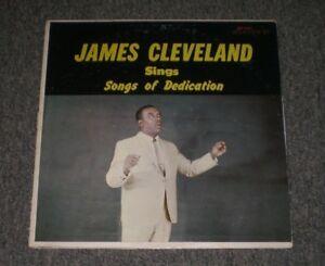 James-Cleveland-Sings-Songs-of-Dedication-1965-Christian-Gospel-Soul-FAST-SHIP