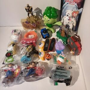 Lot Of Toys Happy Meal Super Mario Snoopy Beanie Baby Incredibles and Others