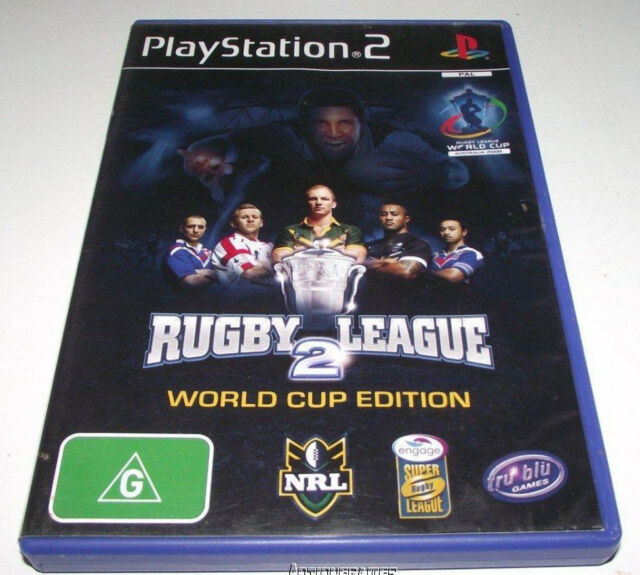 NRL Rugby League 2 World Cup Edition PS2 PAL*Complete*