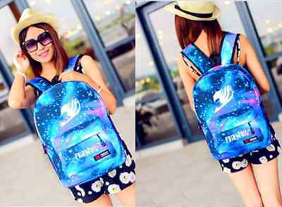 Japan anime FAIRY TAIL Travel bag backpack personality Leisure School bag New