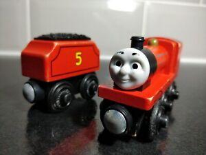 James-amp-Tender-Thomas-amp-Friends-Wooden-Train-No-5-Brio-ELC-Bigjigs-Compatible